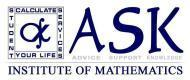 Ask Institute Of Mathematics photo