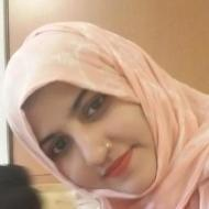 Sadia A. Class 10 trainer in Bangalore
