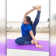 Vinutha S. Yoga trainer in Bangalore