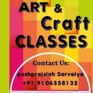 Pushprajsinh Sarvaiya Drawing trainer in Ahmedabad