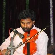 Gurunandan Violin trainer in Bangalore