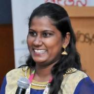 Suganya Spoken English trainer in Chennai