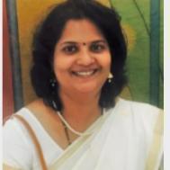 V Kamala Art and Craft trainer in Bangalore
