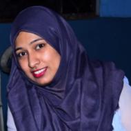 Fatima M. Fashion Designing trainer in Hyderabad