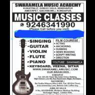 Swaramela Academy Flute institute in Hyderabad