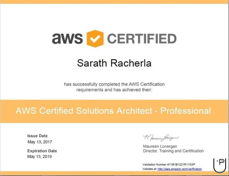 Solution Architect Certification Gallery Creative Certificate