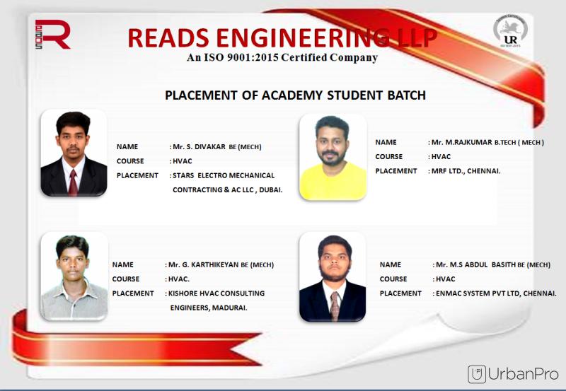 Reads Engineering LLP Academy in Pallavaram, Chennai