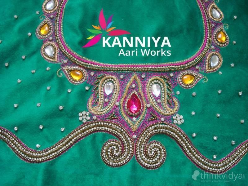 Aari embroidery classes basic and advanced course in