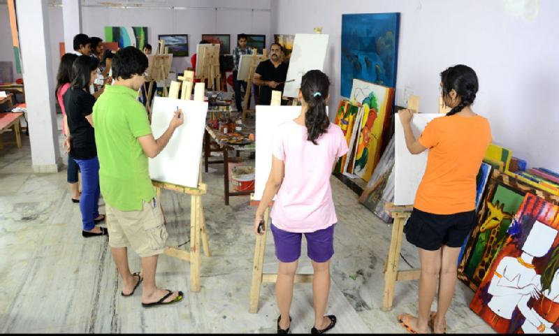 Raghuvanshan gift wrapping classes in punjabi bagh in for Painting classes ct