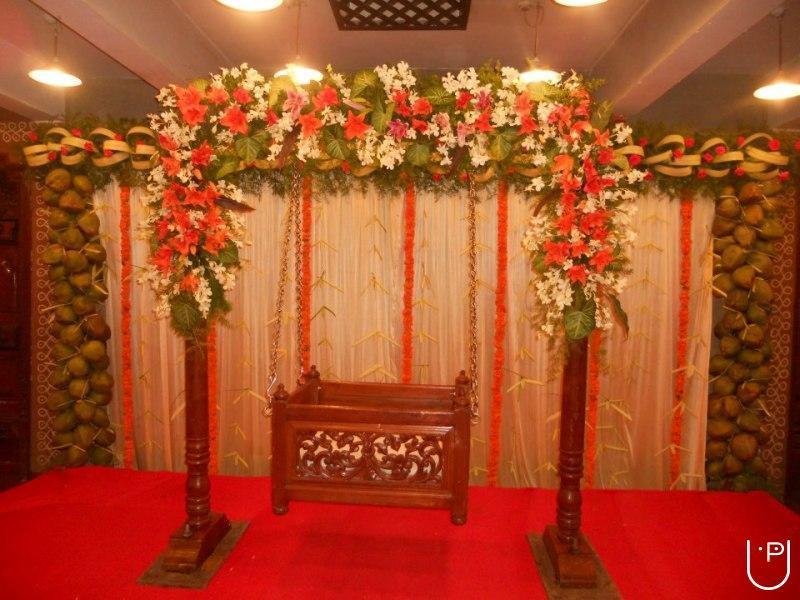 Rao event planners in rajarajeshwari nagar bangalore for Baby name ceremony decoration ideas