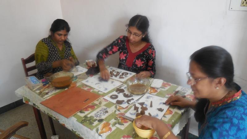advanced terracotta jewellery making class in coimbatore