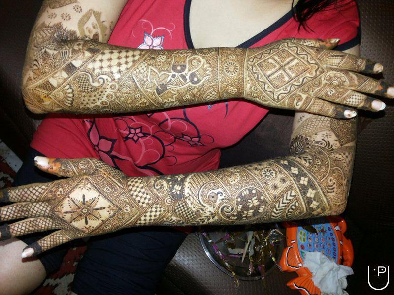 Bridal Mehndi Training : Jaipuri mehandi art in preet vihar delhi
