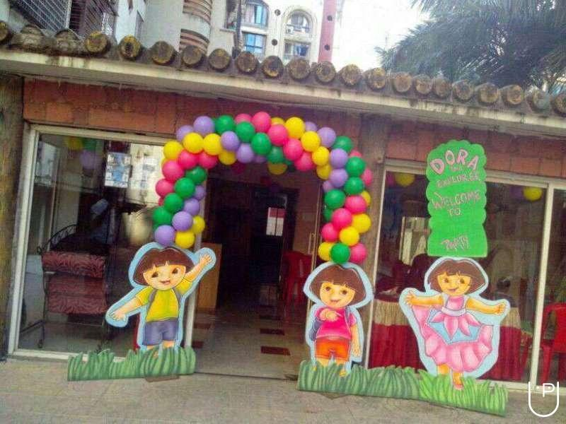 Three d balloon decoration in kodambakkam chennai for Balloon decoration in chennai