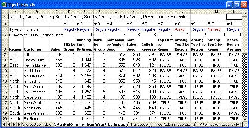 Excel 2007 and 2010 Formulas and Keyboard Shortcuts - Online class ...