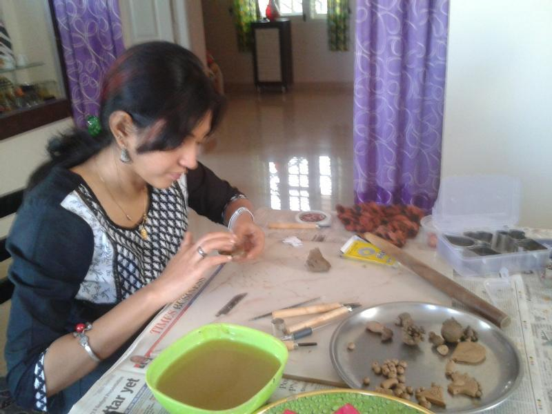 terracotta jewellery making workshop in Bangalore - UrbanPro