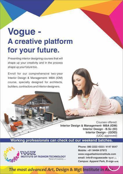 Vogue Institute Of Fashion Technology In Ashok Nagar Bangalore