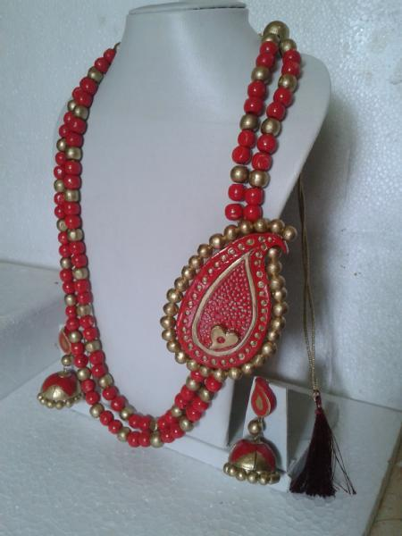 Advanced terracotta jewellery making workshop just for Rs.1300/- in ...