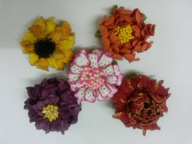 Learn die cutting paper flowers workshop in mulund in mumbai similar mightylinksfo