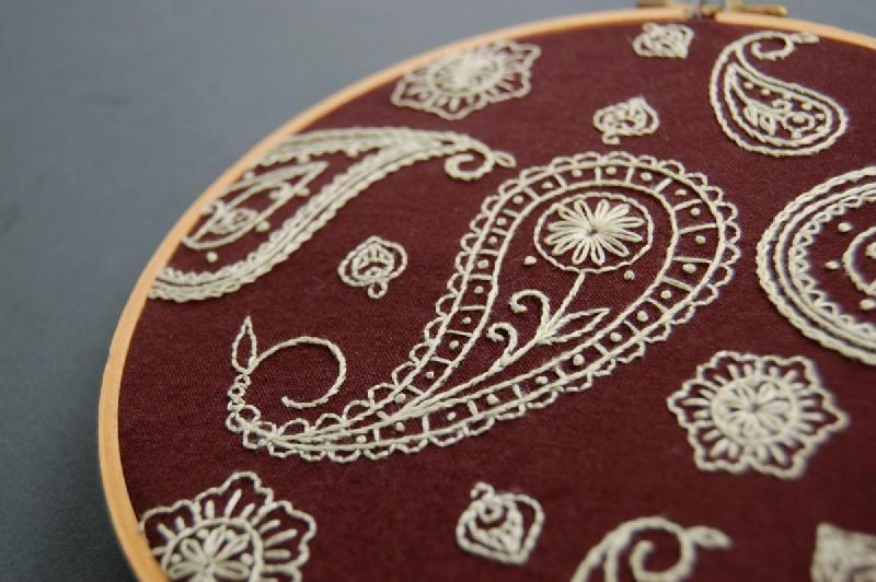 Hand embroidery by artconcept visual communications in