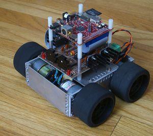 THE DESIGN AND CONSTRUCTION OF AN AUTONOMOUS MOBILE