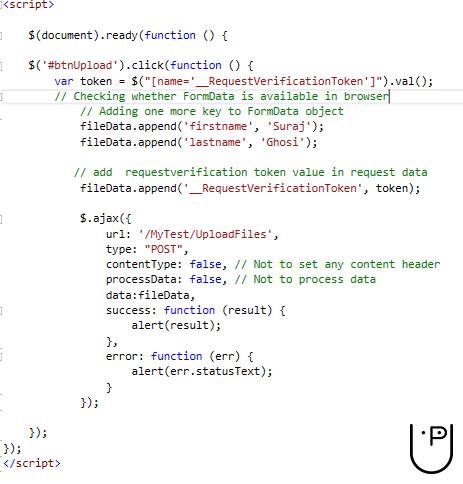 ValidateAntiForgeryToken used in ajax request in MVC