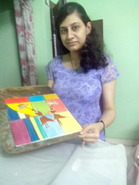 Meera Vasani - ABCD - Any Body Can Draw Art Classes in