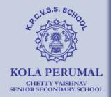 Kola Perumal Chetty Vaishnav Senior Secondary School