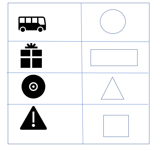 Free Printable Cbse Class  Maths Shapes And Spatial Understanding  Match The Following