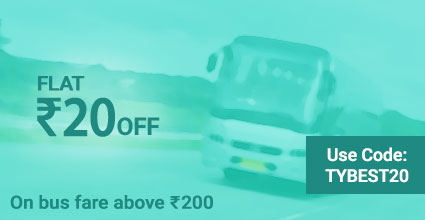 Jagdish Travels deals on Travelyaari Bus Booking: TYBEST20