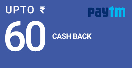 Raj Tourist flat Rs.140 off on PayTM Bus Bookings
