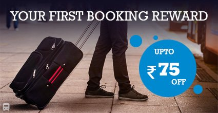 Travelyaari offer WEBYAARI Coupon for 1st time Booking from Ahmedabad To Dhamnod