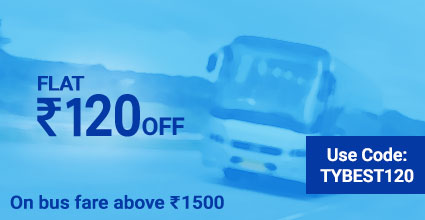 Ahmedabad To Pilani deals on Bus Ticket Booking: TYBEST120
