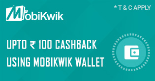 Mobikwik Coupon on Travelyaari for Amet To Baroda
