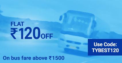 Bhesan To Baroda deals on Bus Ticket Booking: TYBEST120