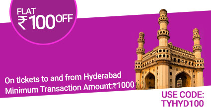 Hyderabad To Kuppam ticket Booking to Hyderabad