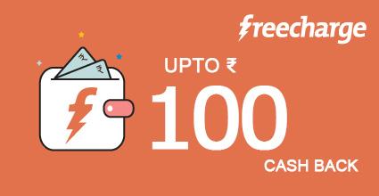 Online Bus Ticket Booking Pondicherry To Jaggampeta on Freecharge