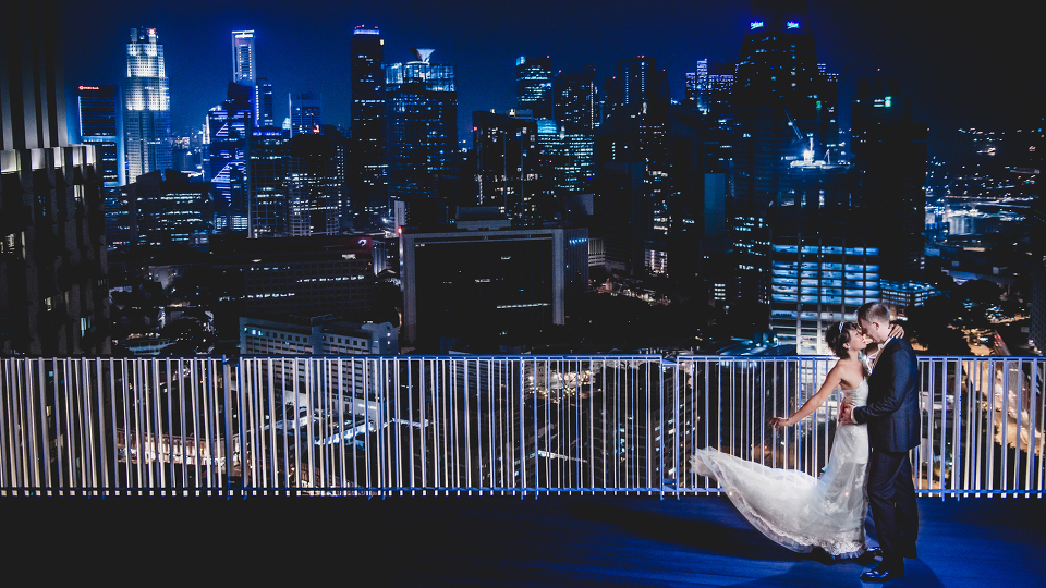 lokasi prewed unik di Singapura
