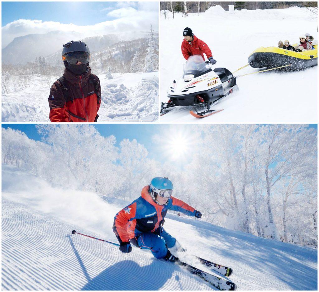 aktivitas musim dingin di Jepang