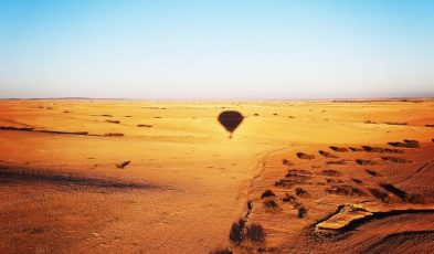 hot air balloon experience marrakech