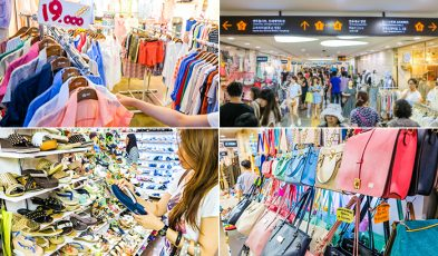 seoul shopping itinerary