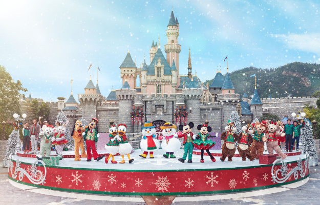 Image result for christmas disney hong kong