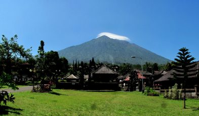 mount agung eruption