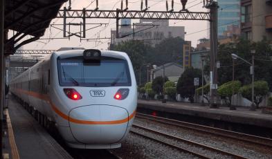 taiwan train and rail system