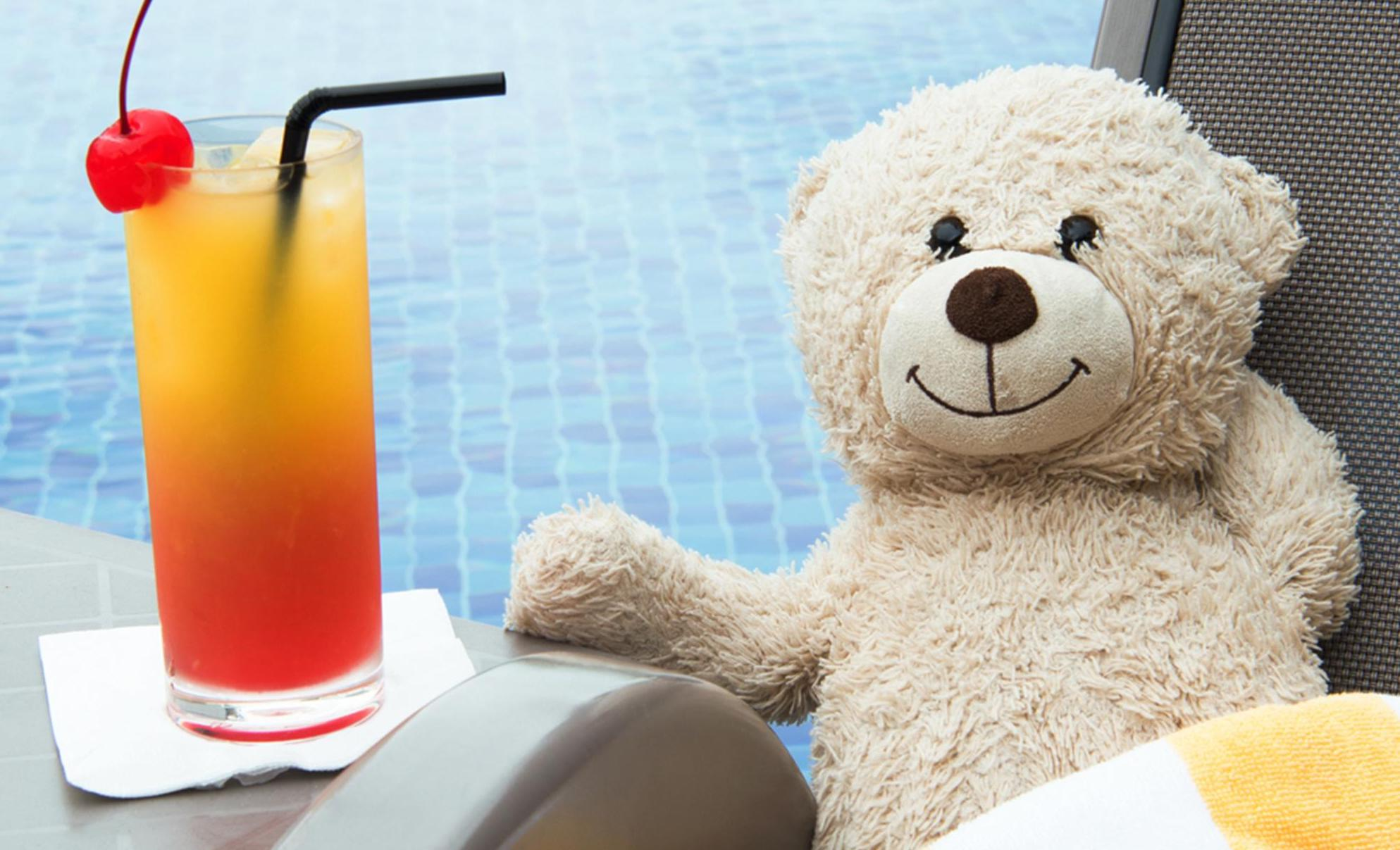 A Lost Teddy Bear From The UK: Here's How Aerotel Singapore Took Care of It