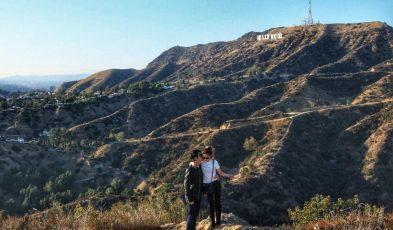 california dream couple holiday