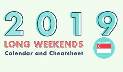 Singapore 2019 Public Holidays and Long Weekends