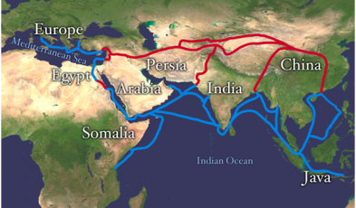 silk road countries
