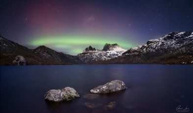 australia new zealand southern lights