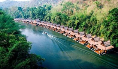 floating hotels in thailand