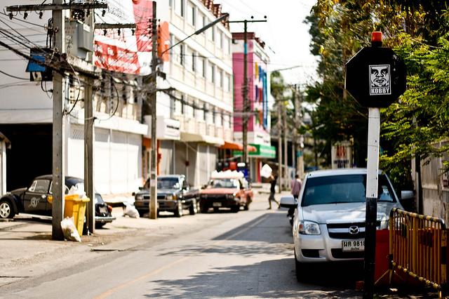 Phố xá ở Chiang Mai